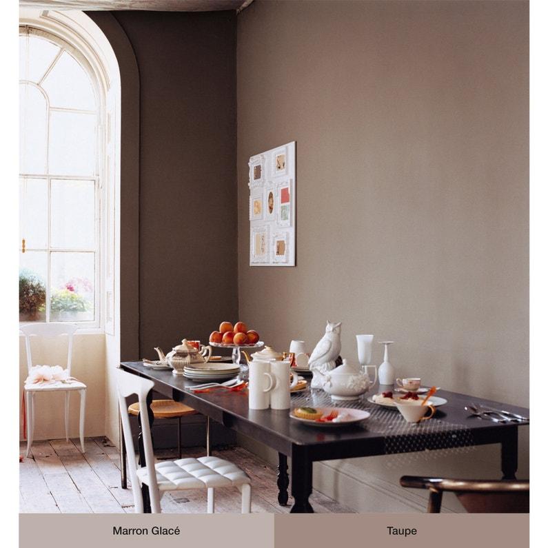 Peinture marron glacé mat DULUX VALENTINE Crème de couleur 2.5 l
