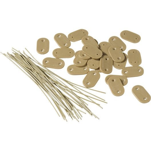 28 fixation pour canisse plastique ou bambou naterial fixcane leroy merlin. Black Bedroom Furniture Sets. Home Design Ideas