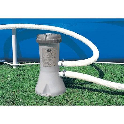 Pompe piscine filtre piscine au meilleur prix leroy merlin for Produit pour piscine intex