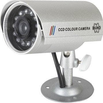 Vid osurveillance cam ra de surveillance d tecteur de - Camera factice leroy merlin ...