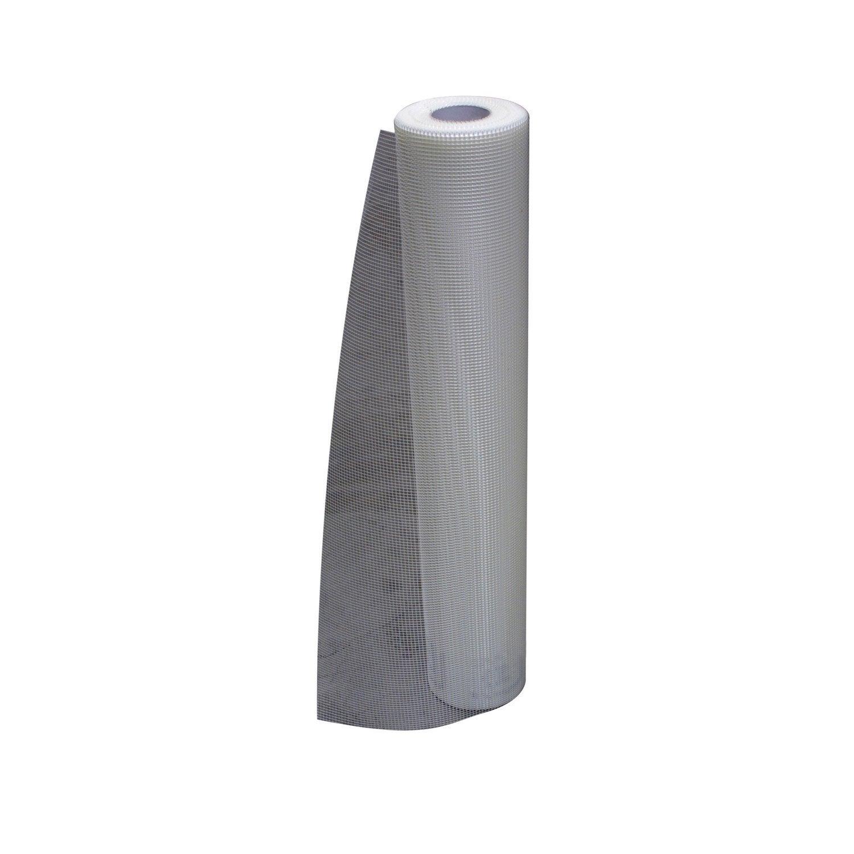 Toile À Enduire Plafond toile de verre pour enduit de façade blanc semin 1.5 kg