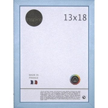Cadre Kawaï, 13 x 18 cm, bleu baltique n°3