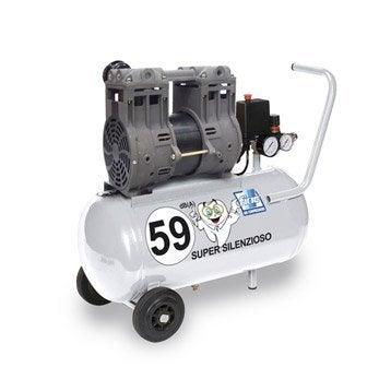 Compresseur de chantier FIAC, 24L 0.5 cv