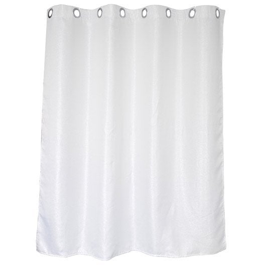 Rideau de douche en tissu x cm argent abeille - Rideau de douche leroy merlin ...