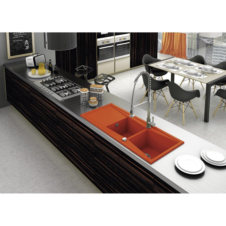 Plan De Travail Chrome arts de la table 2x enduit de silicone chrome plaque chaude