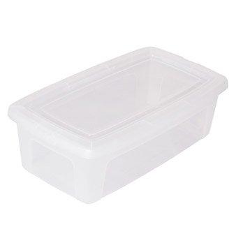 Boîte Modular clear box plastique , l.19 x P.34 x H.11 cm