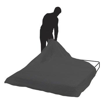 Housse de matelas pour matelas 2 personnes l.160 x P.22 cm