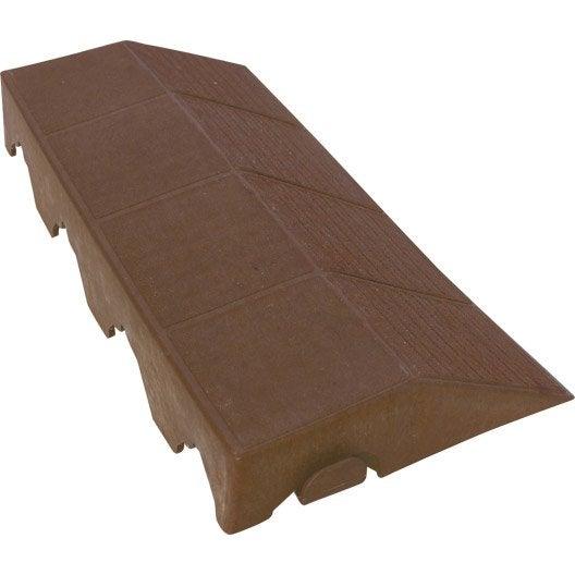 bordure de finition clipser pour dalles autoportantes. Black Bedroom Furniture Sets. Home Design Ideas