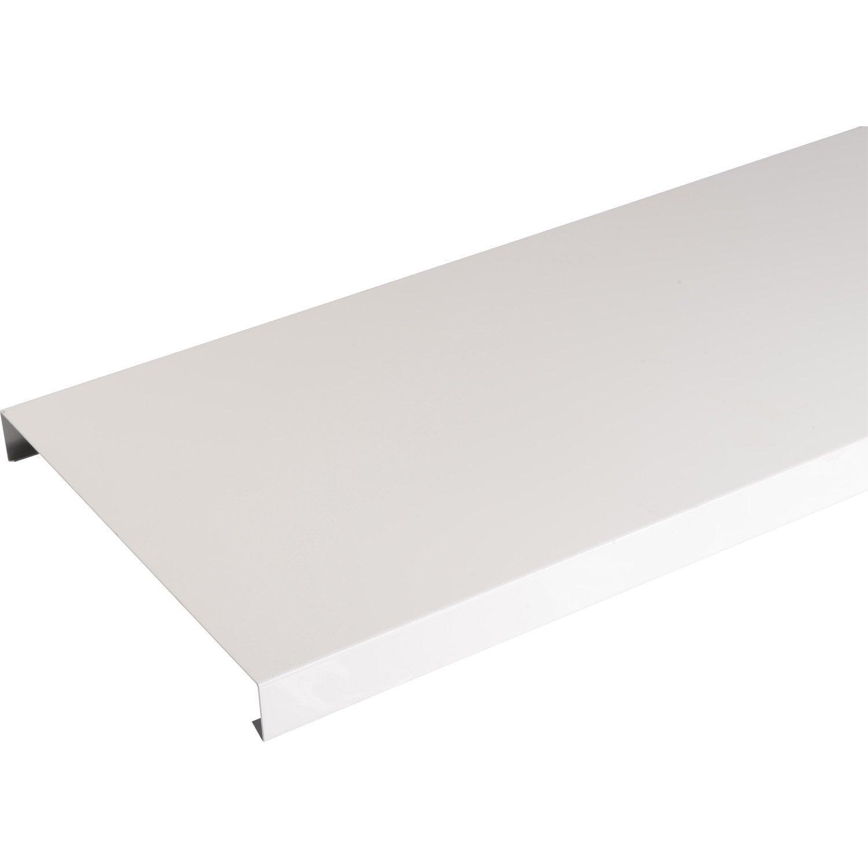 Couvertine Aluminium 270 X 2000 Lmc Virano Blanc L2 M