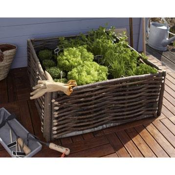 carr potager et table de rempotage bois acier au meilleur prix leroy merlin. Black Bedroom Furniture Sets. Home Design Ideas