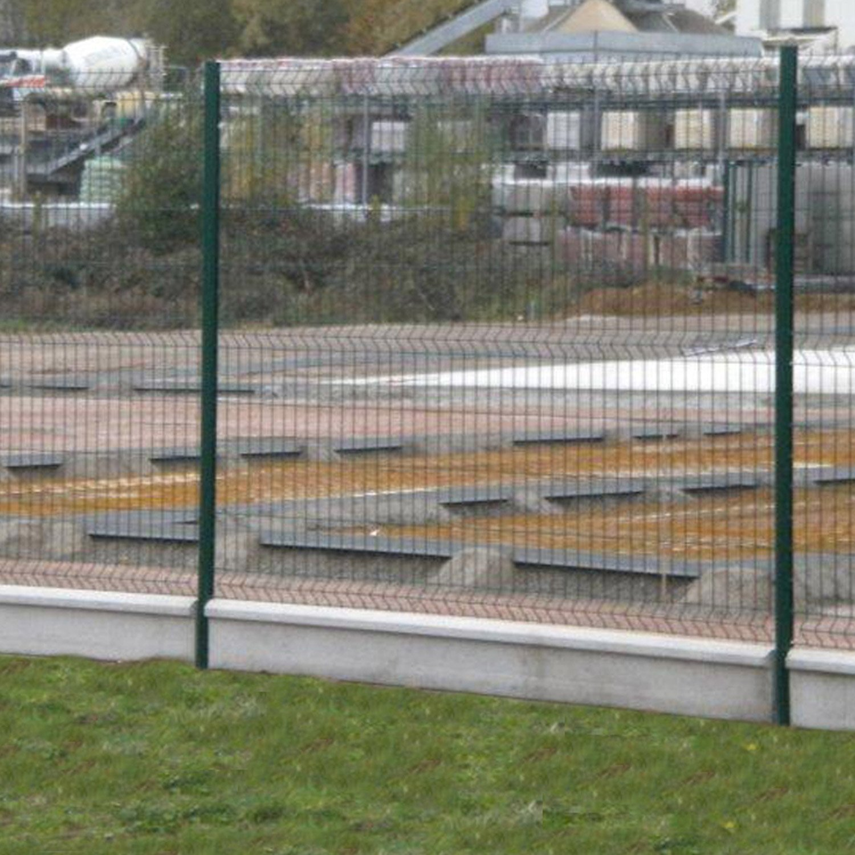 Cloture En Plaque De Beton Prix pour plaque en béton pour clôture droite, l.253 x h.25 cm x ep.3.8 mm