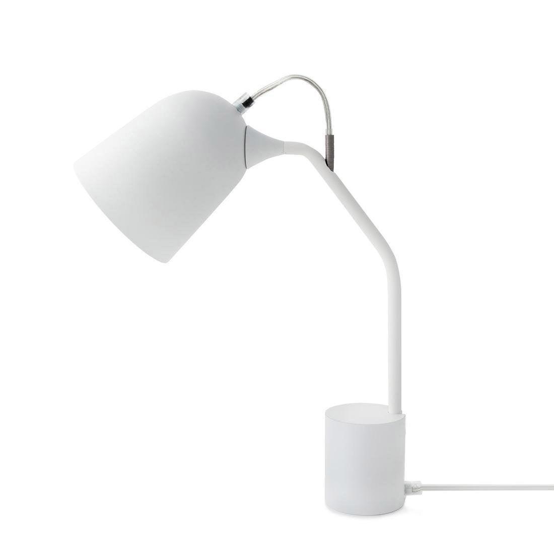 Lampe, design, plastique blanc, LO EDITIONS Magnétic orientable