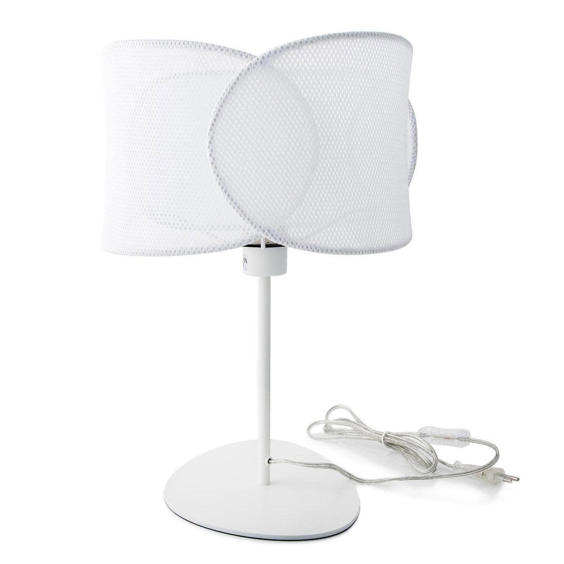 Lampe, design, métal blanc, MARBELLA LIGHTING Net