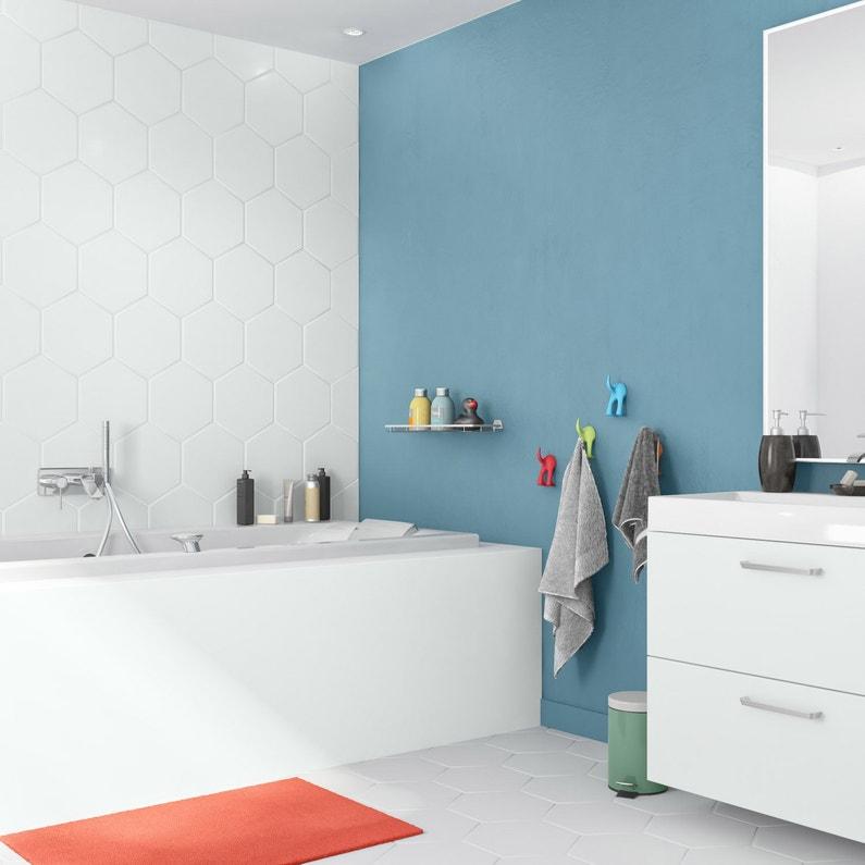 Peinture salle de bain murs, meubles, carrelages LUXENS, blanc, 0.75 l,  satin