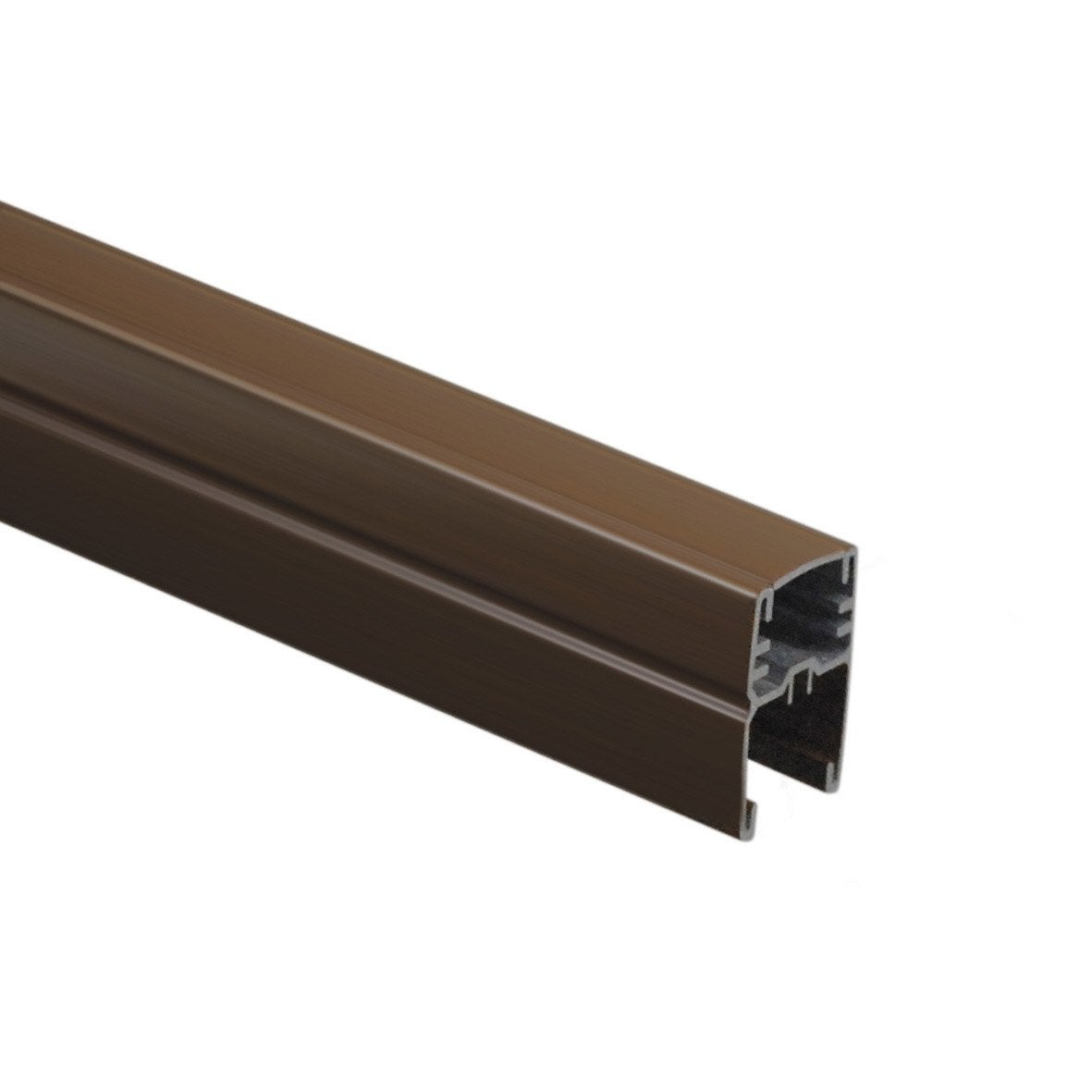 profil de finition aluminium en h premium marron x. Black Bedroom Furniture Sets. Home Design Ideas