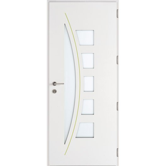 Porte d 39 entr e sur mesure en aluminium acora excellence for Dimension porte entree