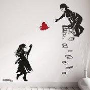 Sticker Coeur à prendre 50 cm x 70 cm
