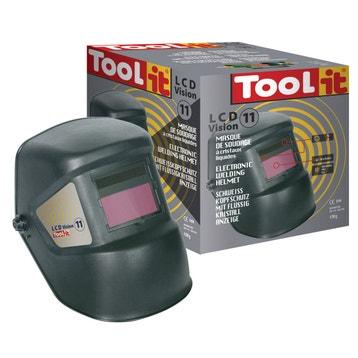 c0a923fe298eac Livraison web offerte Masque de soudeur automatique TOOL-IT Lcd vision 11