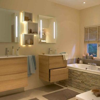 Bien clairer sa maison leroy merlin - Luminaire salle de bain leroy merlin ...