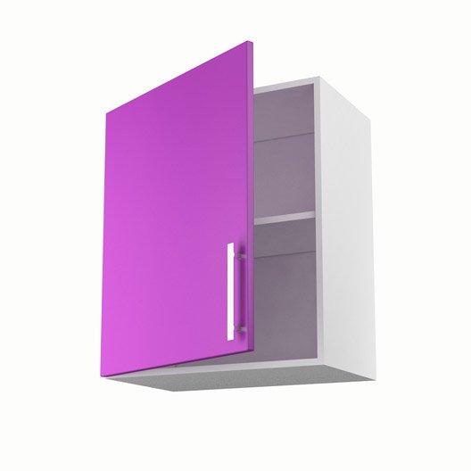 Meuble De Cuisine Haut Violet 1 Porte D Lice X X