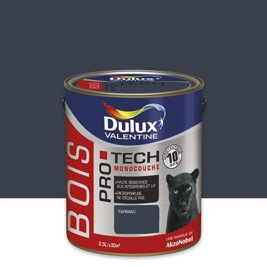 peinture bois ext rieur protech dulux valentine gris tarmac 2 5 l leroy merlin. Black Bedroom Furniture Sets. Home Design Ideas