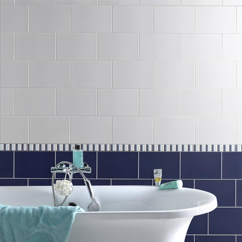 Carrelage bleu nuit carrelage sol salle de bain bleu for Carrelage bleu marine
