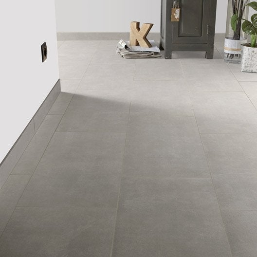 Carrelage sol et mur ciment effet b ton urban x for Peinture aspect beton