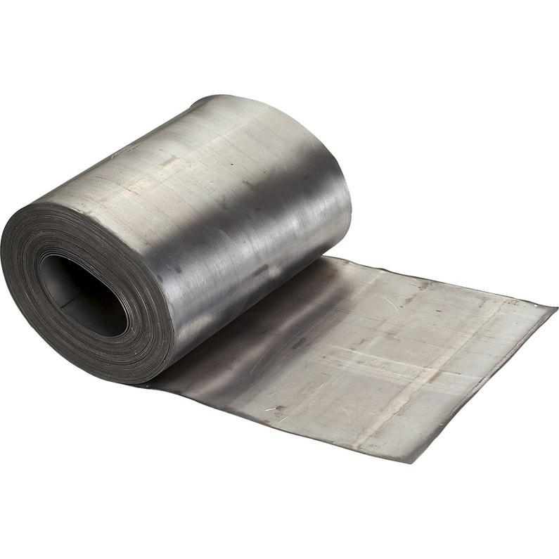 Rouleau de plomb LMC VIRANO gris, l.200 mm x L.10 m ...