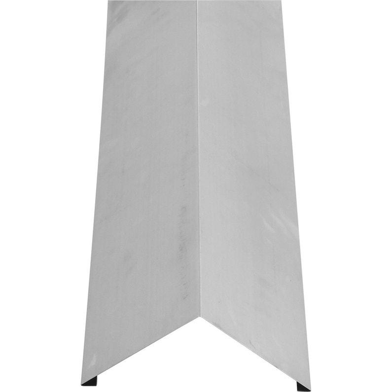 Faîtage Simple 2 Pinces Lmc Virano Gris L400 Mm X L2 M