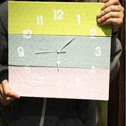 Atelier enfant : réaliser une horloge en bois
