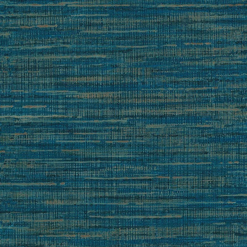 Papier Peint Vinyle Saffiano Tweed Bleu Leroy Merlin