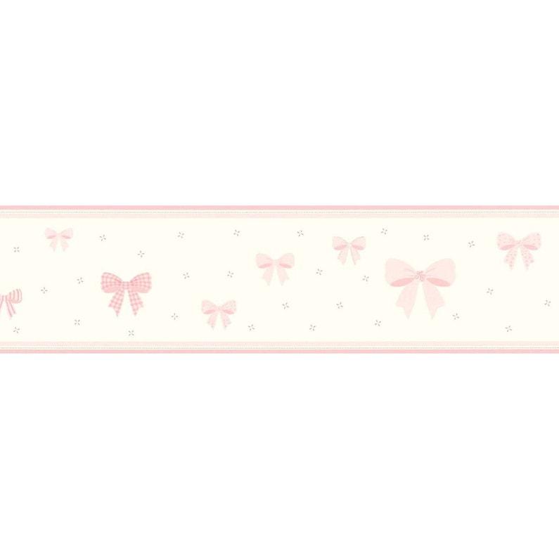 Frise Papier Papier Noeuds L500 Cm X L5 M Rose
