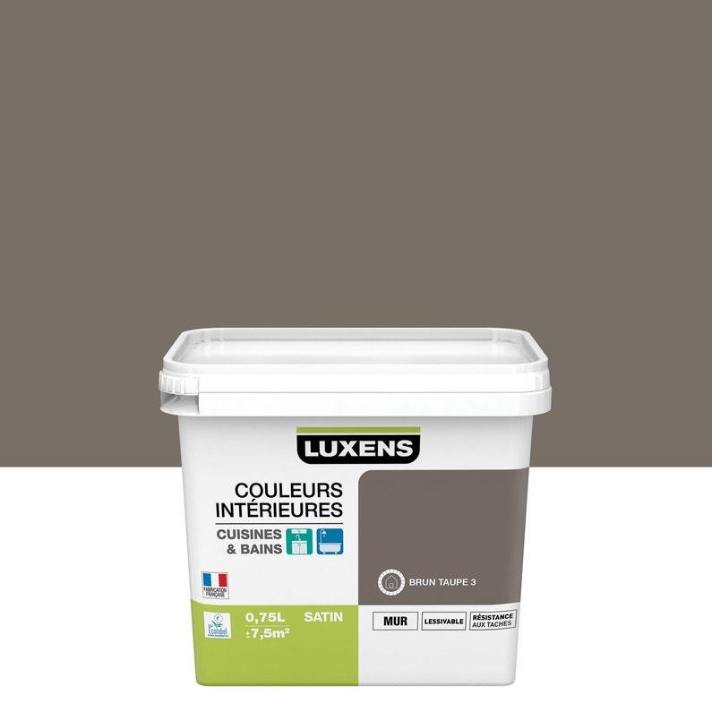 Peinture Couleurs Intérieures Luxens Brun Taupe 3 075 L