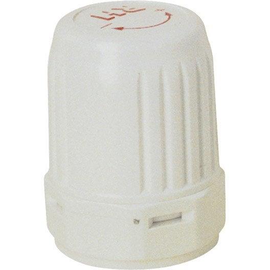 Robinet Thermostatique Droit 1521 Male Femelle Laiton Blanc Danfoss