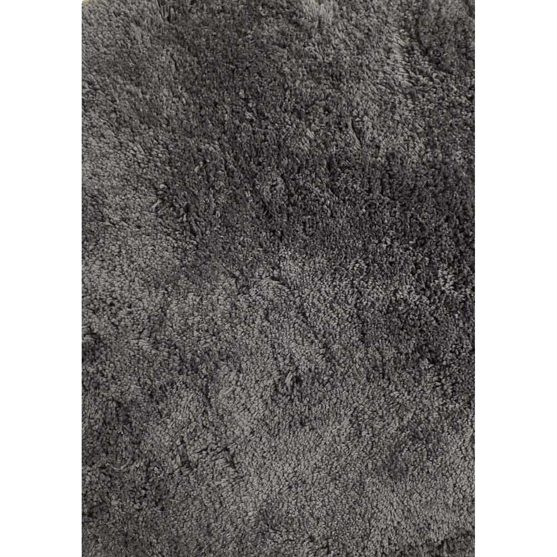 tapis gris shaggy agathe l120 x l170 cm - Tapis Gris