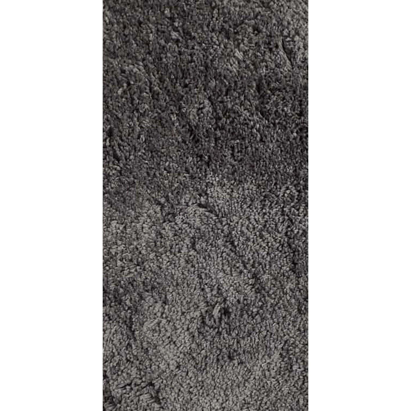 Tapis gris foncé rectangulaire, l.60 x L.120 cm Agathe