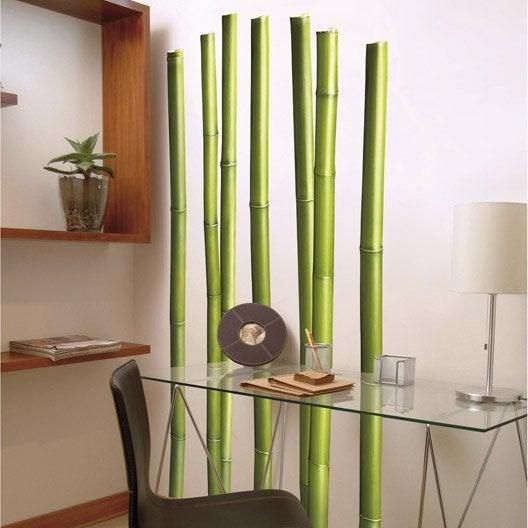 sticker bambous 58 cm x 168 cm leroy merlin. Black Bedroom Furniture Sets. Home Design Ideas