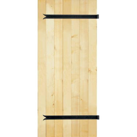 volet battant sapin 2 vantaux tableau x cm leroy merlin. Black Bedroom Furniture Sets. Home Design Ideas
