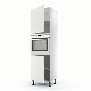 Meuble de cuisine blanc delinia d lice leroy merlin for Cuisine 3d leroy merlin ne fonctionne pas