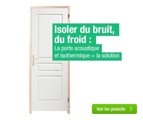 Isoler du bruit amazing isoler plafond bruit with isoler du bruit cool lutter contre les - Comment isoler une porte d entree du bruit ...