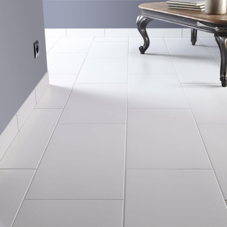 Carrelage Sol Et Mur Blanc Blanc 0 Effet Béton Universo L30 X L