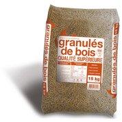 Granulés de bois  en sac, 15 kg