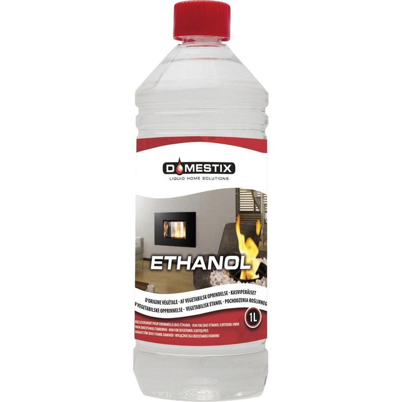 Häufig Bioéthanol liquide DOMESTIX, 1 l | Leroy Merlin QD32