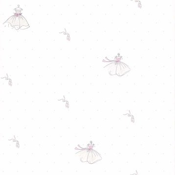Papier peint papier rose
