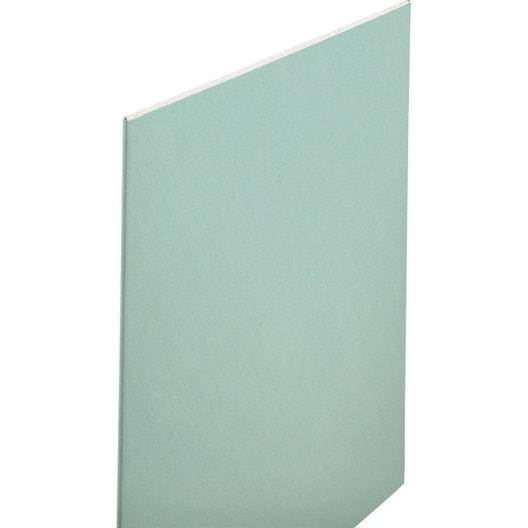 plaque de pl tre hydro nf h1 2 5 x 1 2 m ba13 leroy merlin. Black Bedroom Furniture Sets. Home Design Ideas
