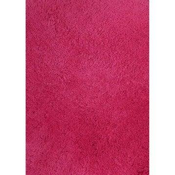 Tapis Shaggy Agathe Rose Shocking N 3 170x120 Cm