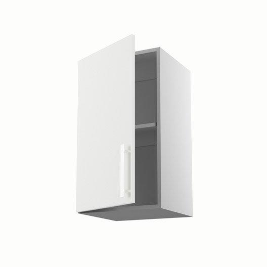 meuble de cuisine haut blanc 1 porte d lice x x On meuble 70x40