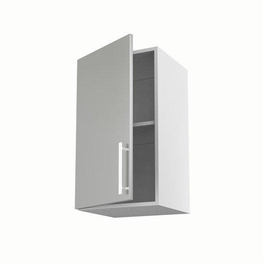 meuble de cuisine haut gris 1 porte d lice x x p