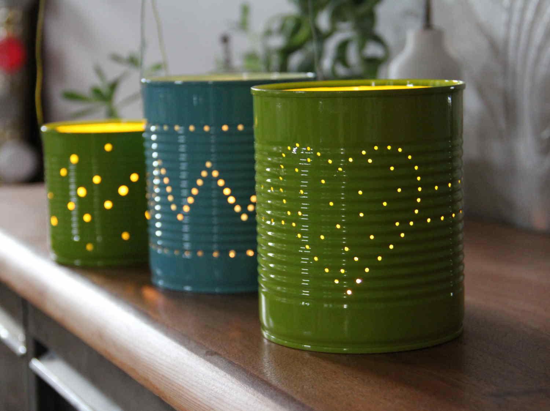 Confectionner mes lanternes lumineuses