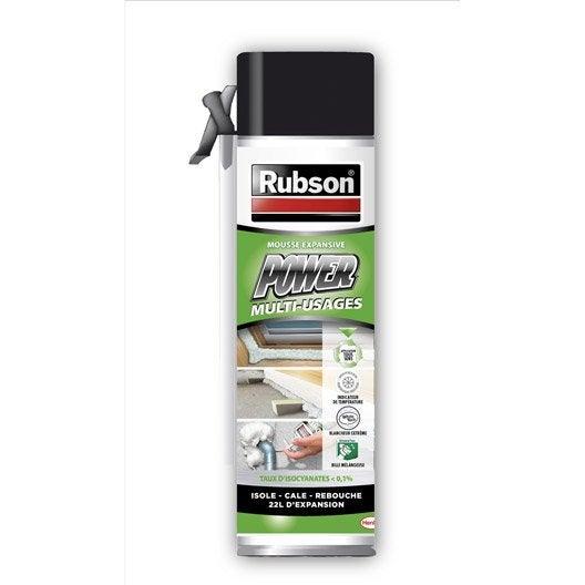 Mousse expansive RUBSON l.235 x L.65 x Ep.65 mm 500 ml